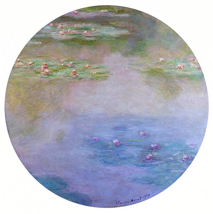 Water Lilies, 1907 08. Claude Oscar Monet