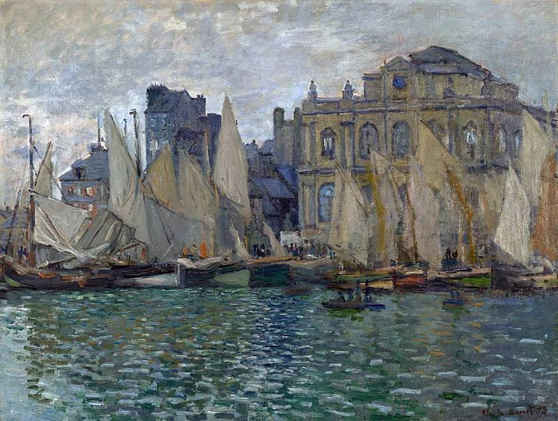 The Havre Museum. Claude Oscar Monet
