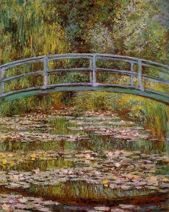 The Japanese Bridge. Claude Oscar Monet