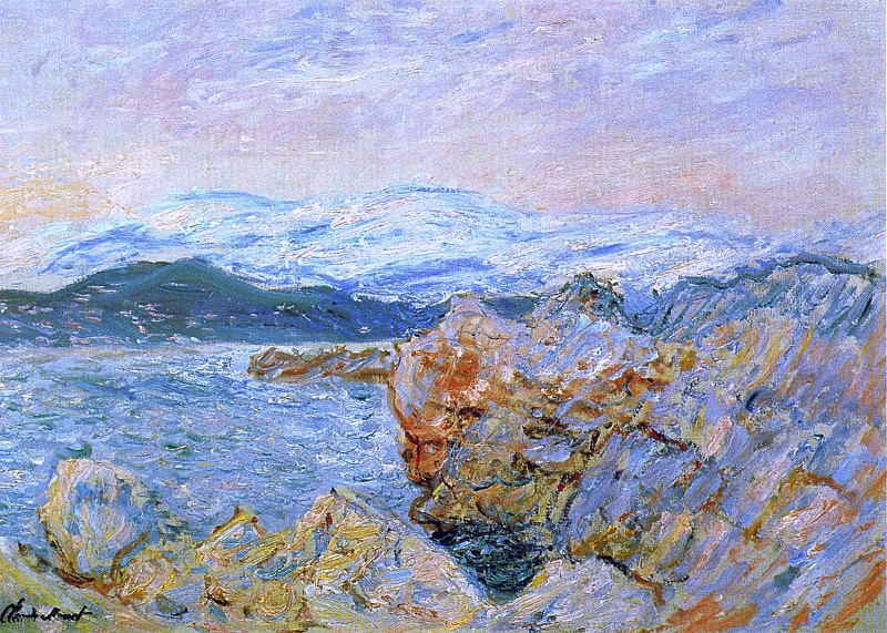 The Gulf Juan at Antibes. Claude Oscar Monet