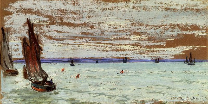Open Sea. Claude Oscar Monet