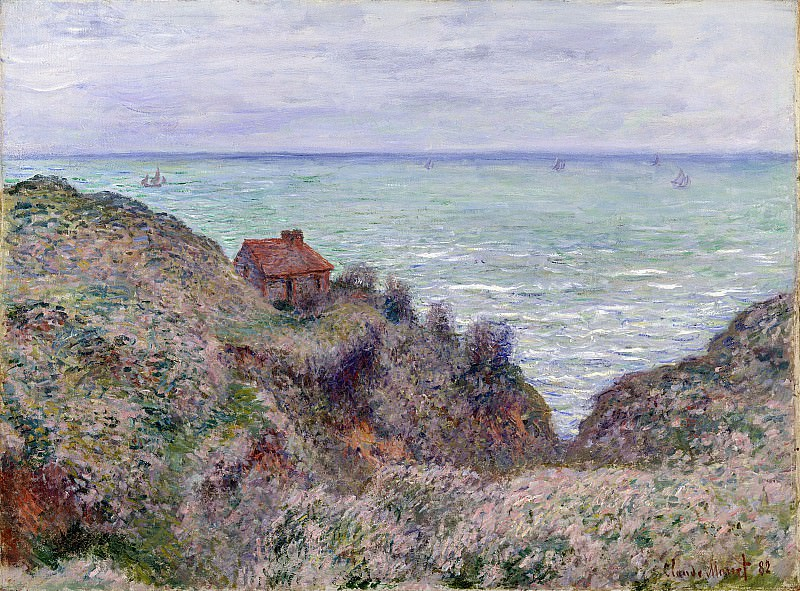 Customs House. Claude Oscar Monet