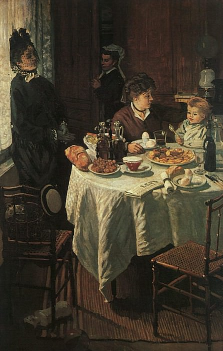 The Luncheon. Claude Oscar Monet
