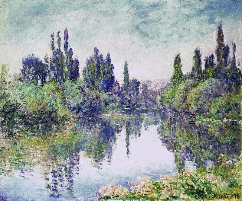Morning on the Seine, near Vetheuil. Claude Oscar Monet