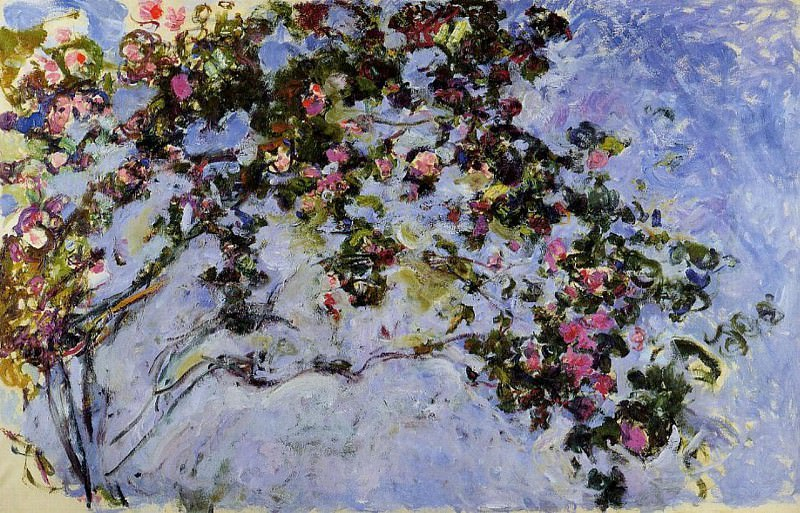 The Rose Bush. Claude Oscar Monet