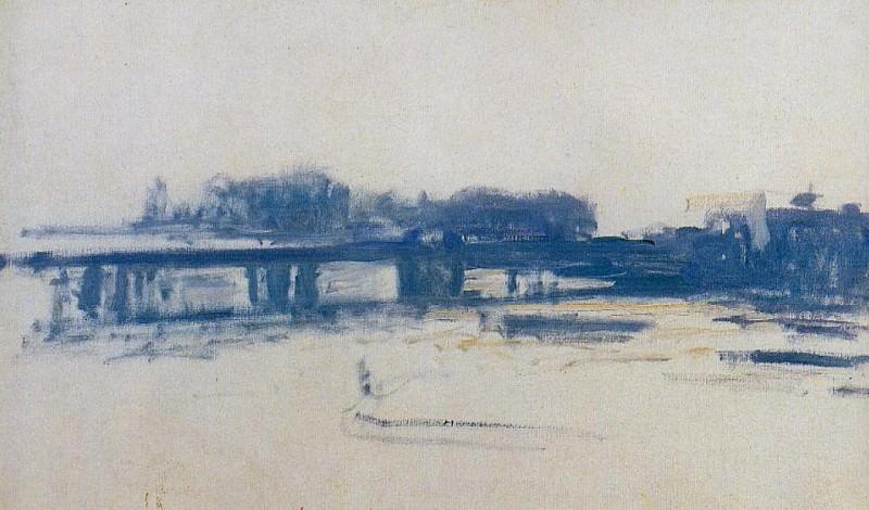 Charing Cross Bridge (study). Claude Oscar Monet