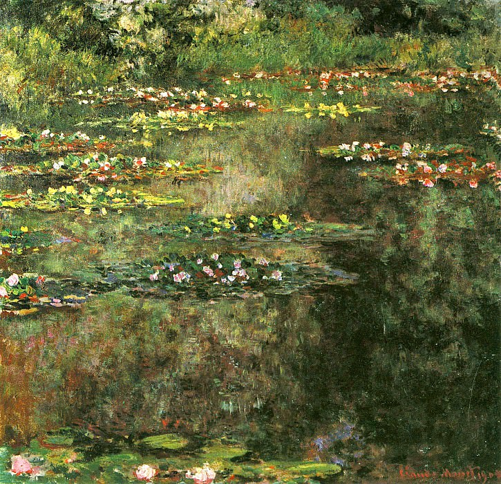 Water Lilies, 1904 02. Claude Oscar Monet
