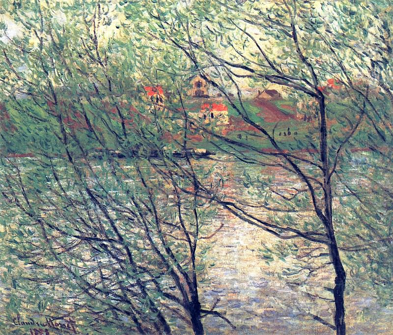 The Isle Grande-Jatte. Claude Oscar Monet