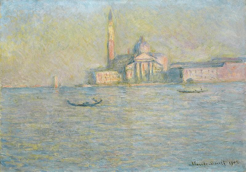 San Giorgio Maggiore 3. Claude Oscar Monet