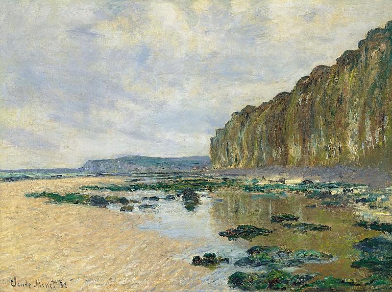 Low Tide at Varengeville. Claude Oscar Monet