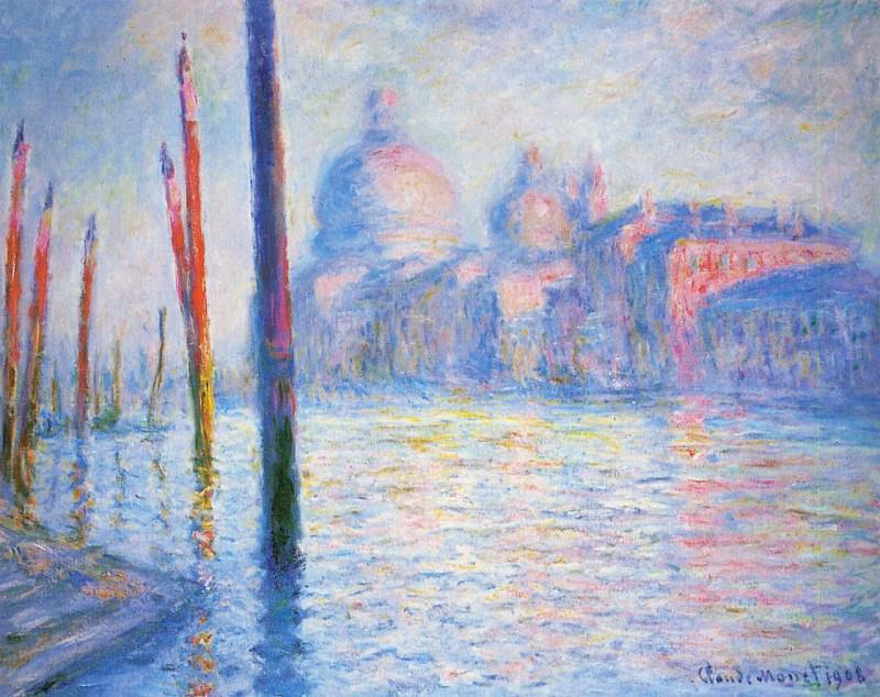 The Grand Canal 02. Claude Oscar Monet