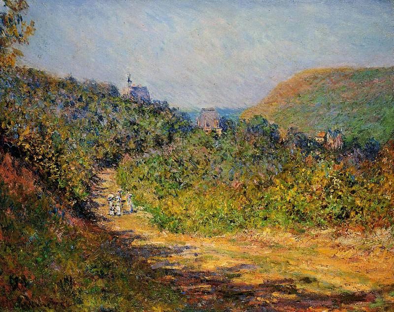 At Les Petit-Dalles. Claude Oscar Monet