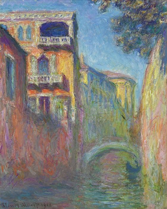 Rio della Salute 01. Claude Oscar Monet