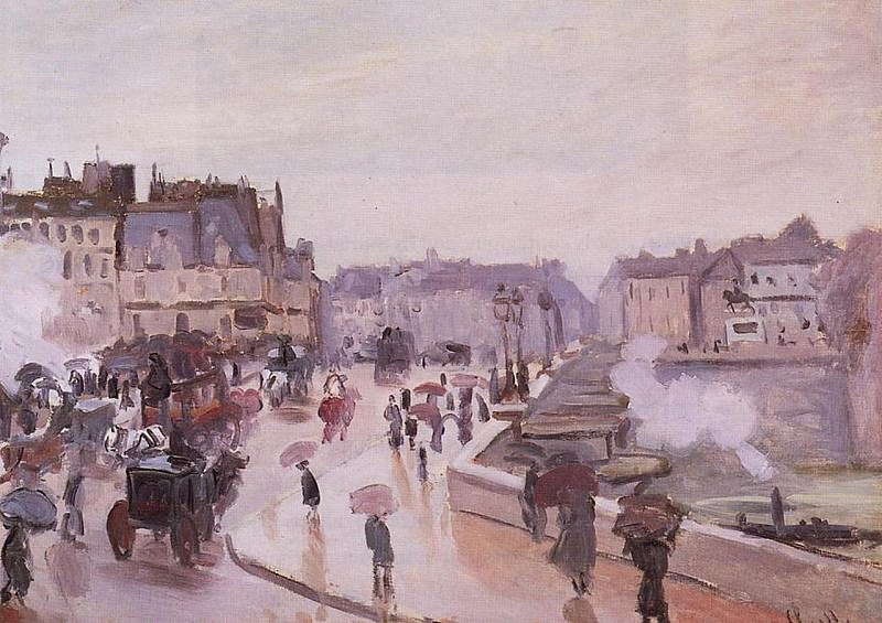The Pont Neuf. Claude Oscar Monet
