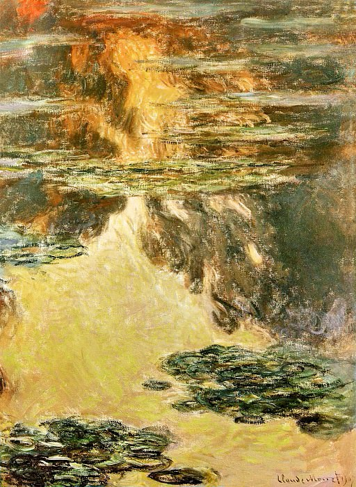 Water Lilies, 1907 04. Claude Oscar Monet