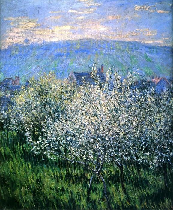 Plums Blossom. Claude Oscar Monet
