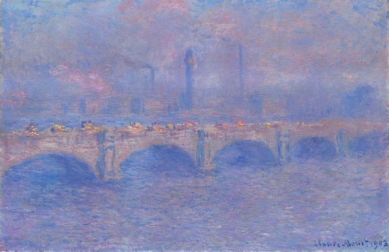 Waterloo Bridge, Sunlight Effect 2. Claude Oscar Monet