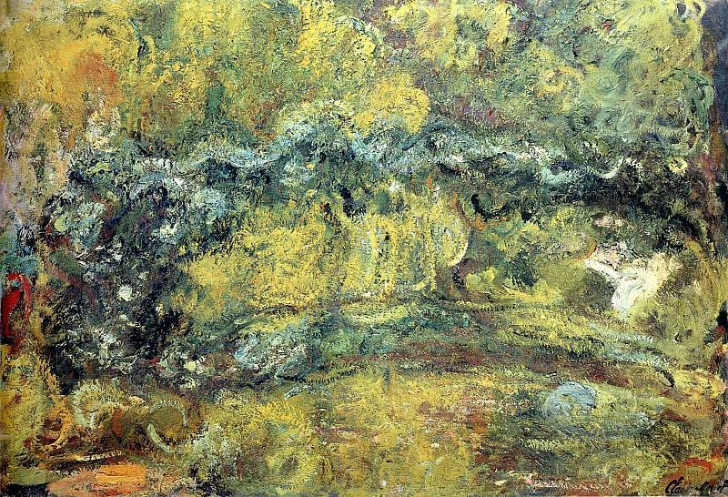 The Japanis Bridge (Footbridge over the Water-Lily Pond). Claude Oscar Monet