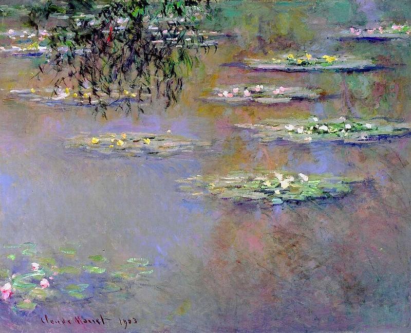 Water Lilies, 1903 01. Claude Oscar Monet