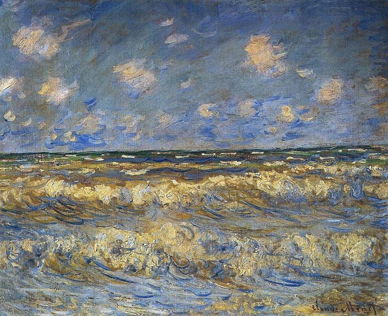 Rough Sea. Claude Oscar Monet