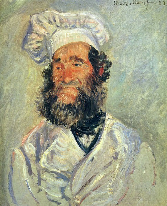 Portrait of Pere Paul. Claude Oscar Monet
