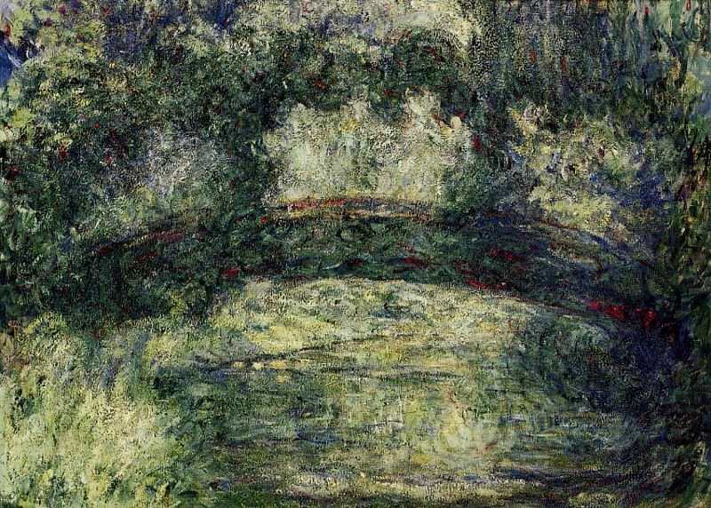 The Japanese Bridge 10. Claude Oscar Monet