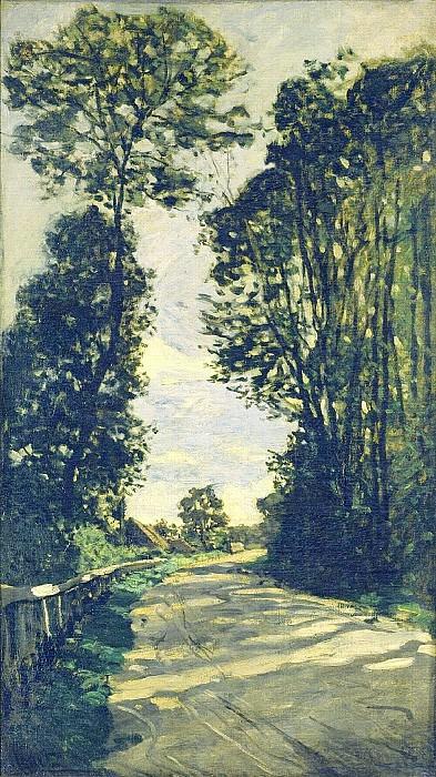 Road to the Saint-Simeon Farm. Claude Oscar Monet