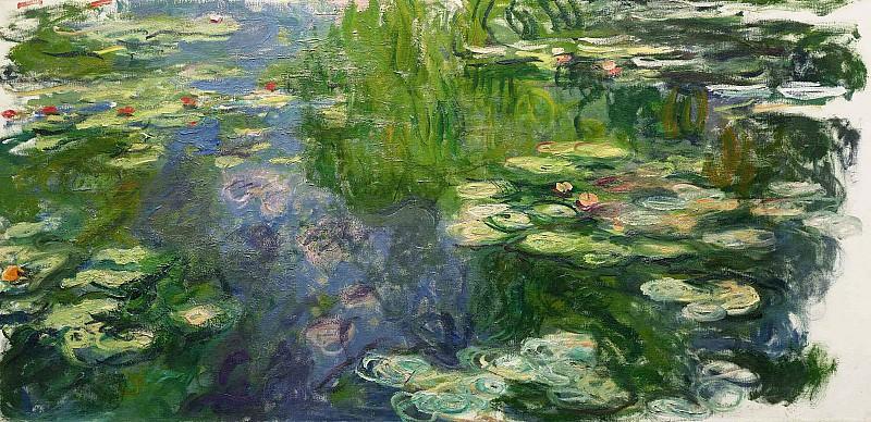 Water Lilies, 1917-19 02. Claude Oscar Monet
