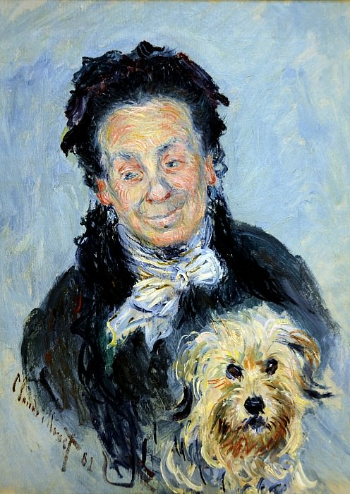 Le Mere Paul (Eugenie Graff, Madame Paul Graff). Claude Oscar Monet