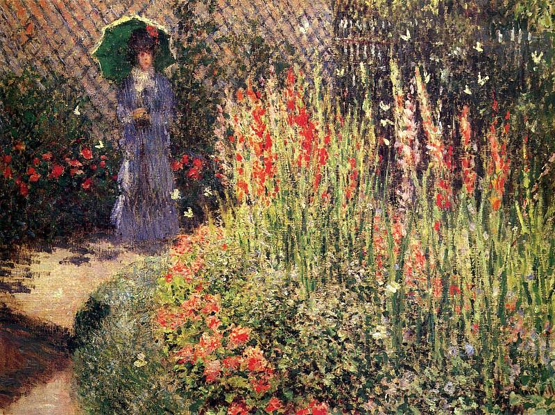Gladioluses. Claude Oscar Monet