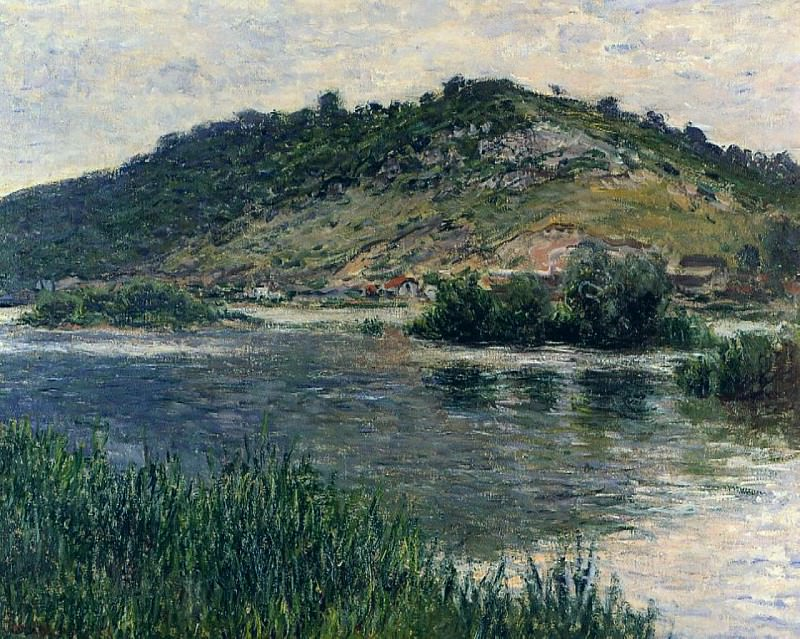 Landscape at Port-Villez. Claude Oscar Monet