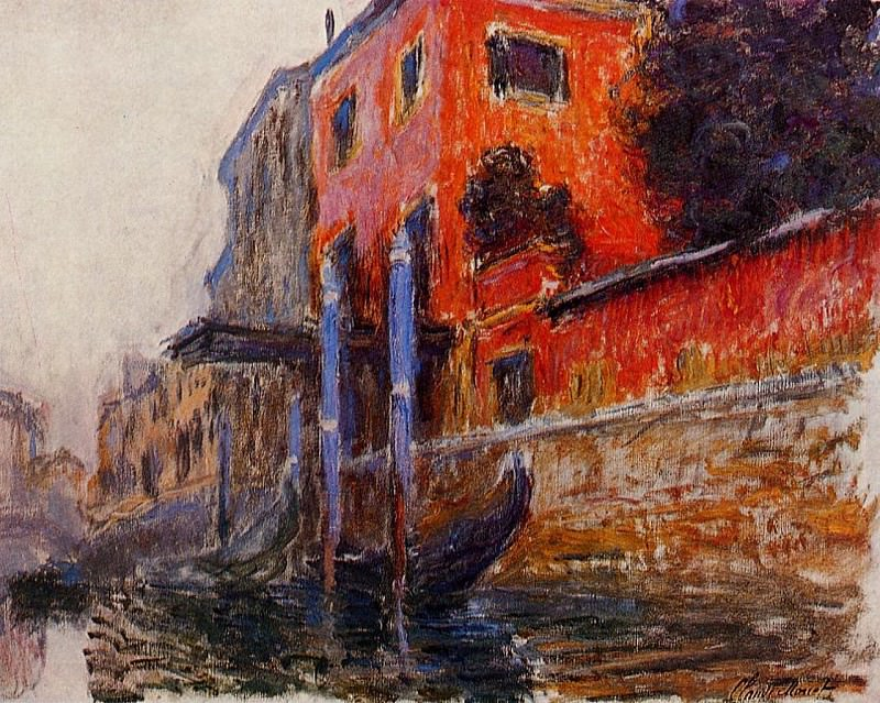 The Red House. Claude Oscar Monet
