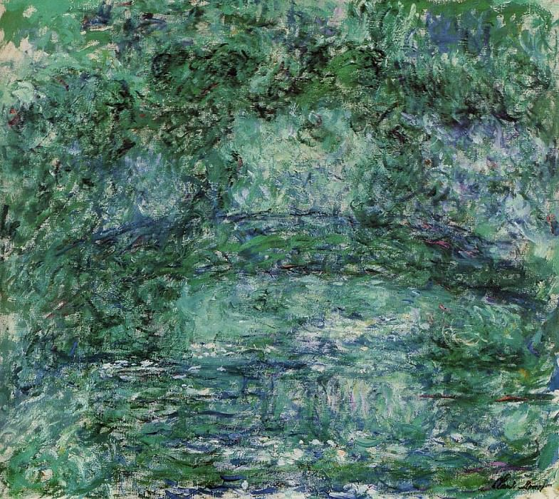 The Japanese Bridge 6. Claude Oscar Monet