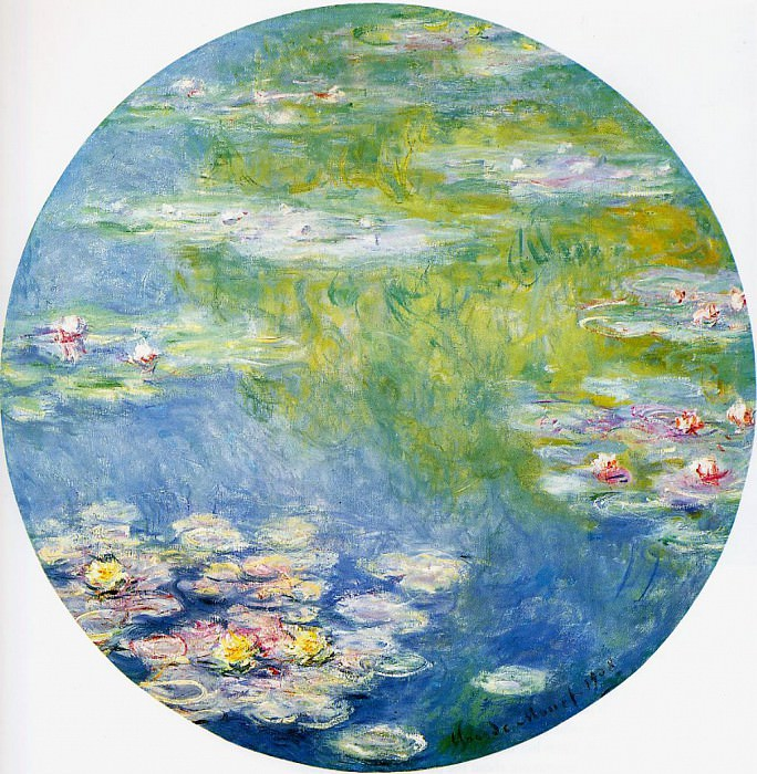 Water Lilies, 1908 07. Claude Oscar Monet