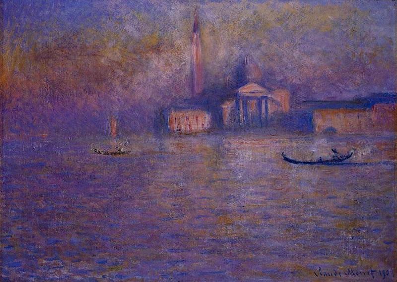 San Giorgio Maggiore 4. Claude Oscar Monet