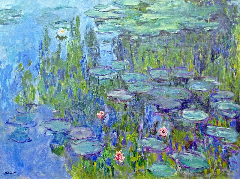 Water Lilies, 1914 02. Claude Oscar Monet