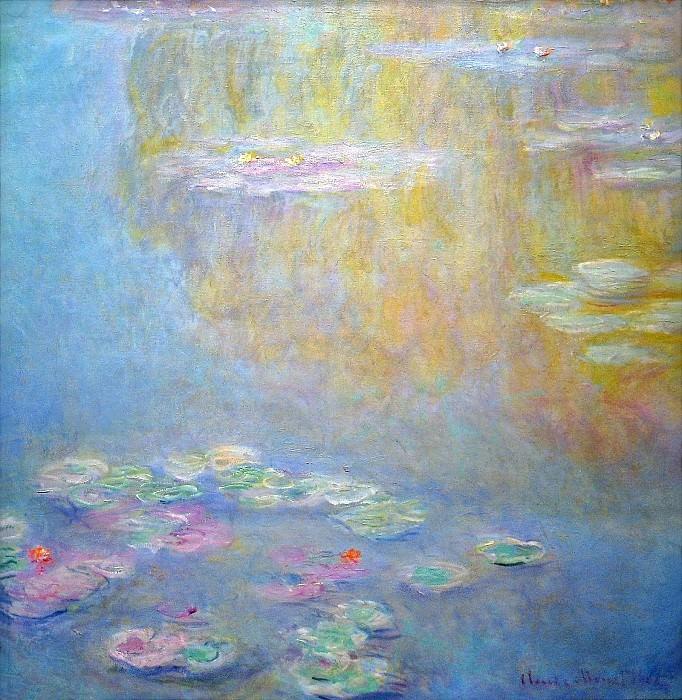 Water Lilies, 1908 03. Claude Oscar Monet