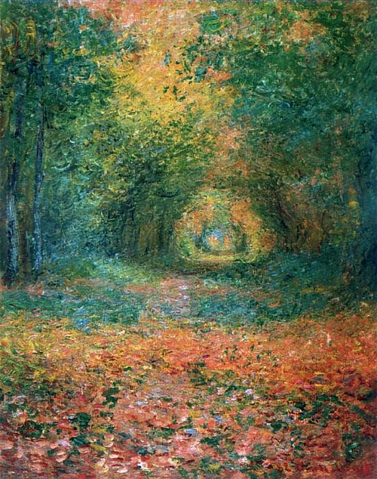 The Undergrowth in the Forest of Saint-Germain. Claude Oscar Monet