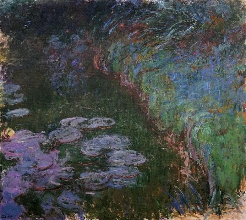 Water Lilies, 1914-17 10. Claude Oscar Monet