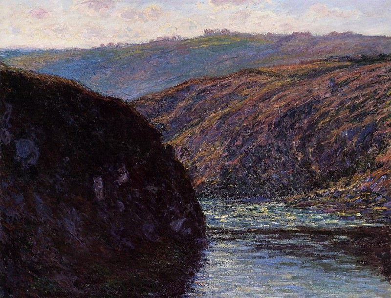 Valley of the Creuse, Afternoon Sunlight. Claude Oscar Monet