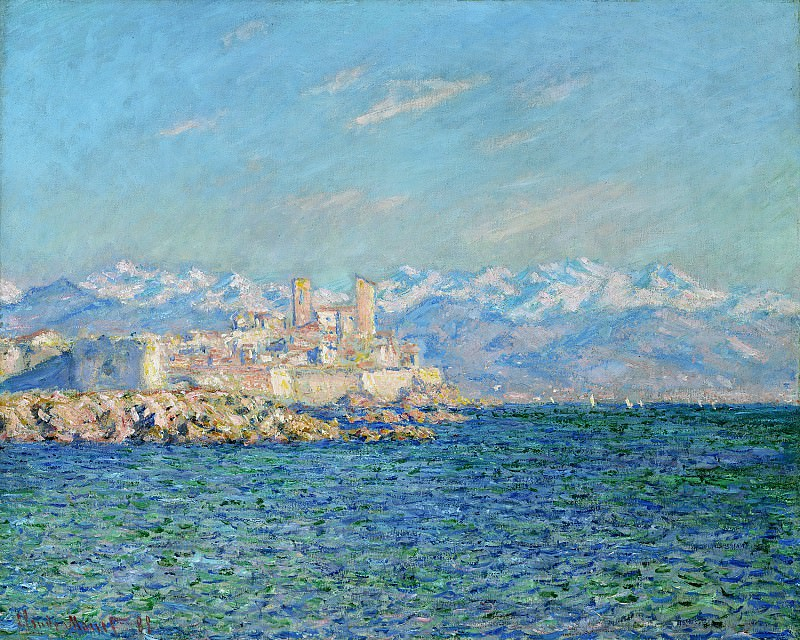Antibes, Afternoon Effect. Claude Oscar Monet