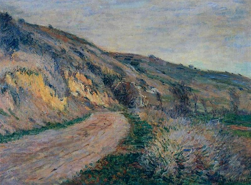 The Road to Giverny 2. Claude Oscar Monet