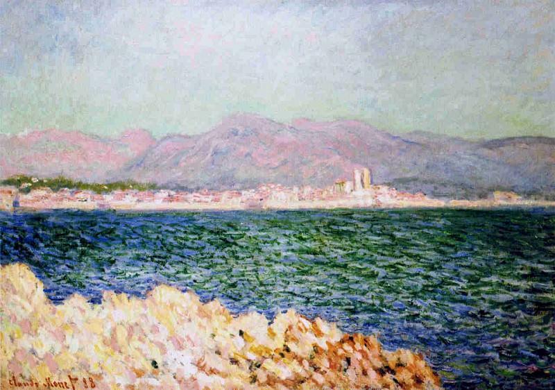 The Gulf of Antibes. Claude Oscar Monet
