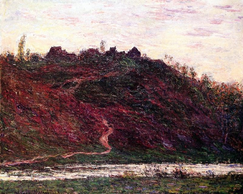 The Village of La Coche-Blond, Evening. Claude Oscar Monet