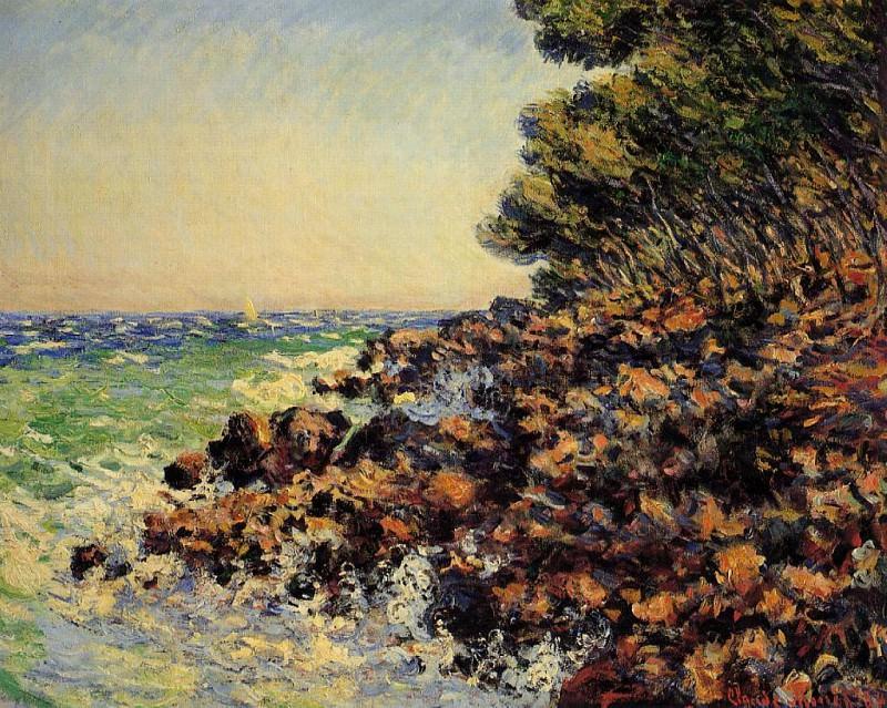 Cap Martin. Claude Oscar Monet