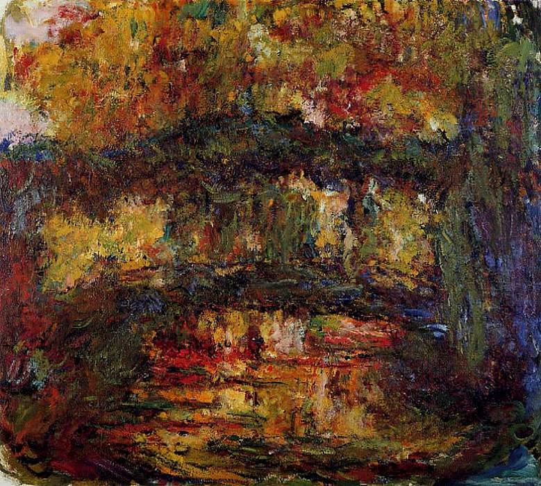 The Japanese Bridge 4. Claude Oscar Monet