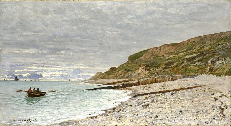 The Point de la Heve, Honfleur. Claude Oscar Monet