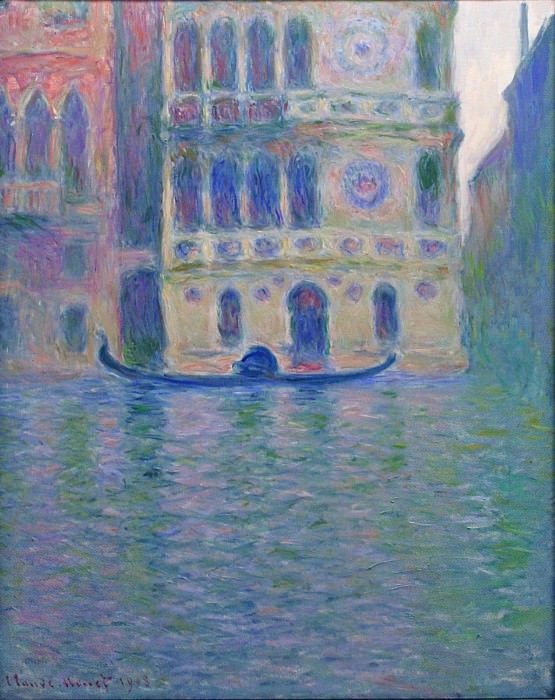 Palazzo Dario 4. Claude Oscar Monet