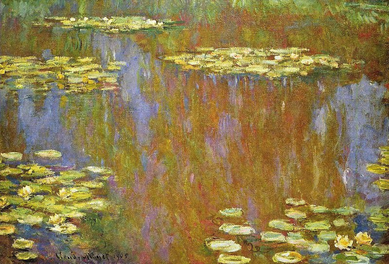 Water Lilies, 1905 03. Claude Oscar Monet