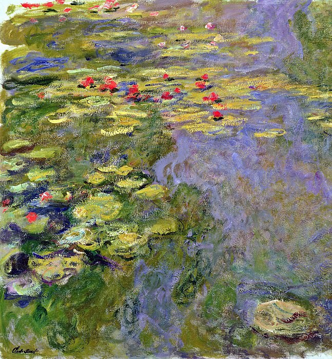 Water Lilies, 1919 02. Claude Oscar Monet